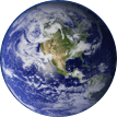 Image of the earth from space